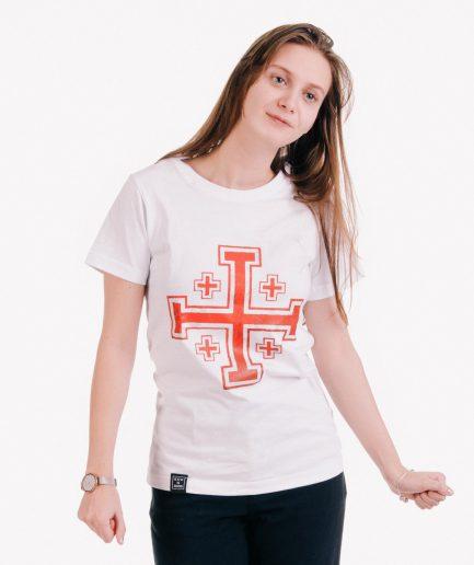krzyż jerozolimski damska