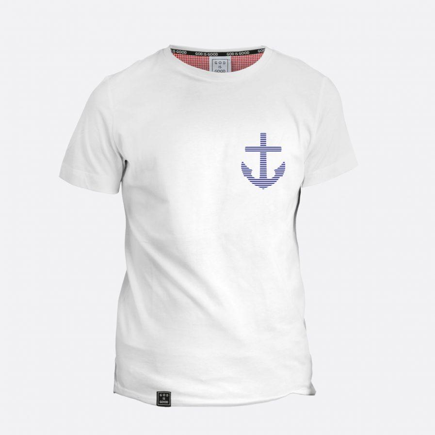 Kotwica - chrześcijańskie koszulki