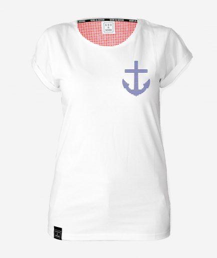 Kotwica - koszulki chrześcijańskie damskie