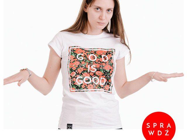 koszulka kwiaty