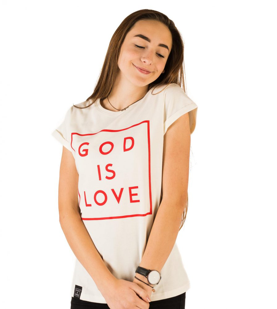 god is love damska