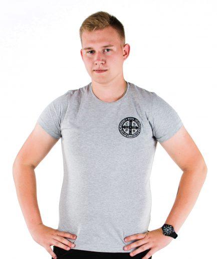 Benedykt szara - chrześcijańskie koszulki